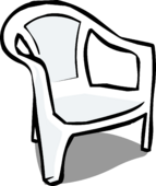 White Plastic Chair sprite 005