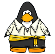 Swashbuckler Outfit from a Player Card