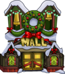 Holiday Party 2015 Mall Exterior