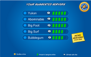 Suggested Servers Will k