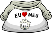 I Heart My White Puffle T-Shirt icon pt