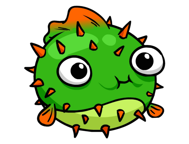 File:Puffer Fish Pin Logo.PNG