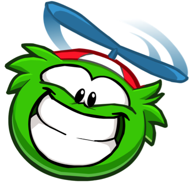 File:Green Funny Puffle.png