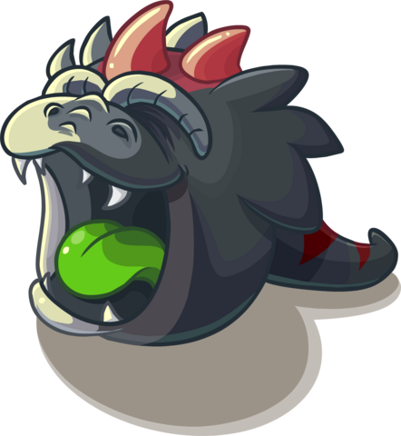 File:DinosaurBlackPuffle.png