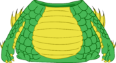 Swamp Monster Costume clothing icon ID 4956