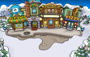 Plaza with Puffle Hotel