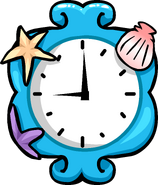 Mermaid Clock sprite 002