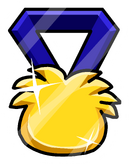 Puffle Medal Pin icon