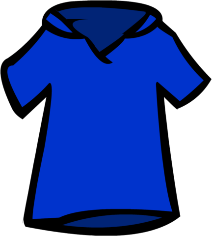 File:Old Blue Polo Shirt.png