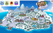 Puffle Party 2013 Map