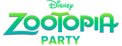 Zootopia Party Logo
