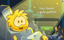 Gold puffle apotion page