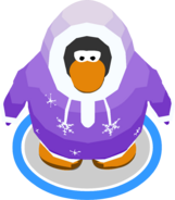 Snow Day Parka in-game