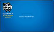 April Fools' Party 2011 login screen 1