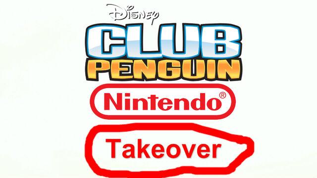 File:Club Penguin Nintendo Takeover Logo.jpg