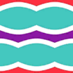 Fabric Carnival Stripes icon