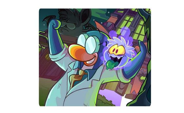 File:Gary and a Ghost Puffle 2014.jpg