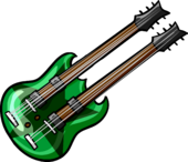 Double Necked Guitar clothing icon ID 5036