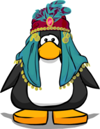 Mystic Headdress on Player Card