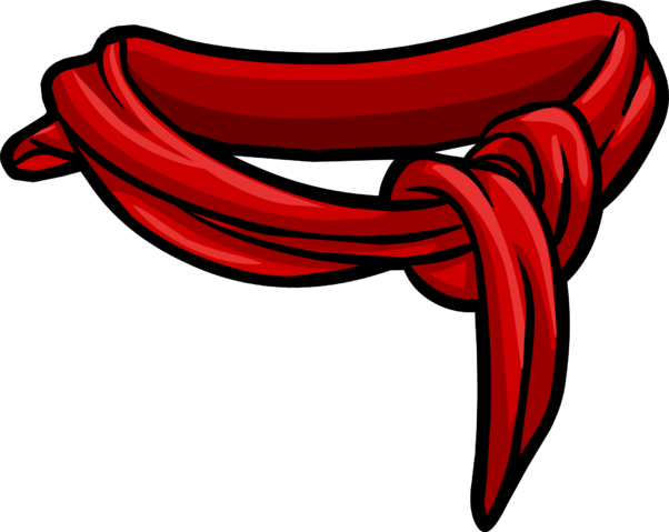 File:Red Cotton Scarf Icon 3099.png