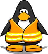 Safety Vest from a Player Card