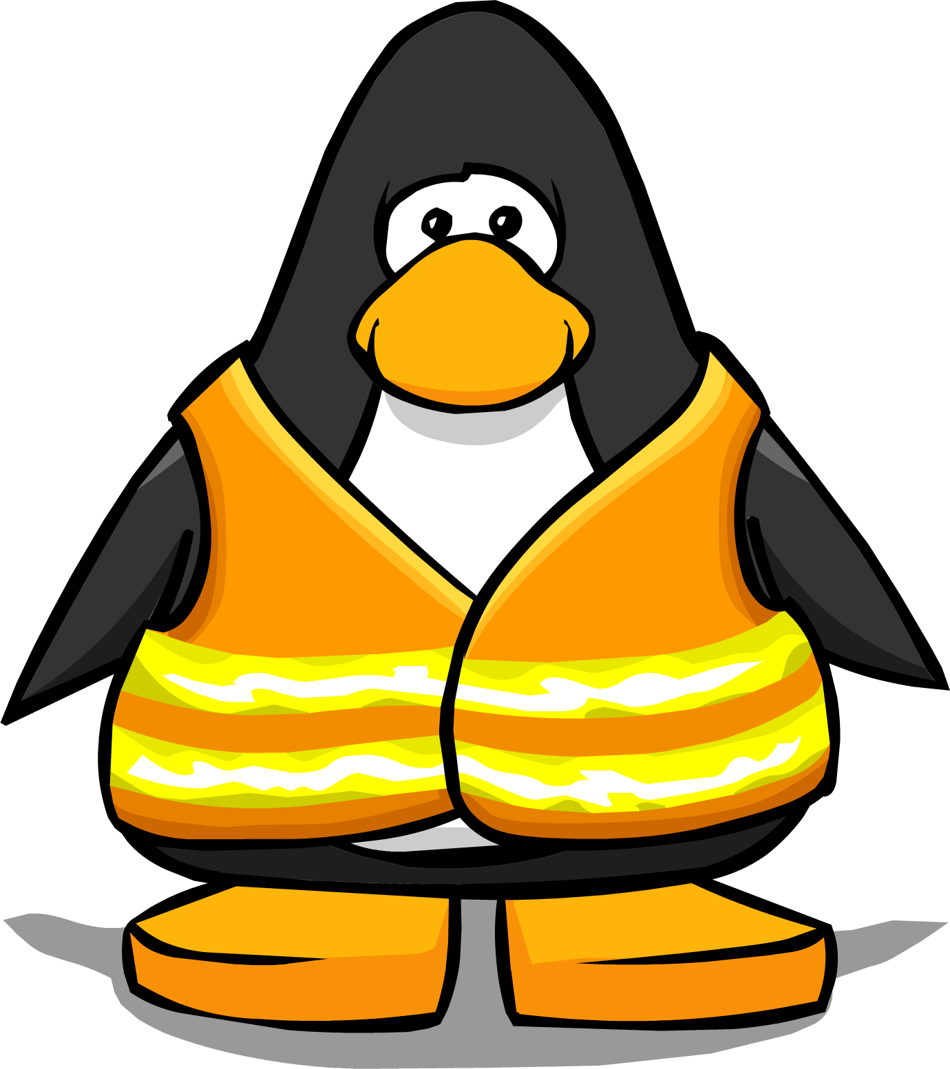 image safety vest from a player card png club penguin bank clipart bank clipart