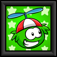 Green Puffle Picture sprite 002