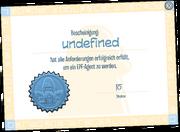 EPF Certificate full award de