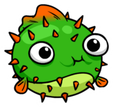 Puffer Fish Pin