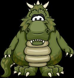 Dinosaurus Rex from a Player Card