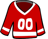 Old Red Hockey Jersey
