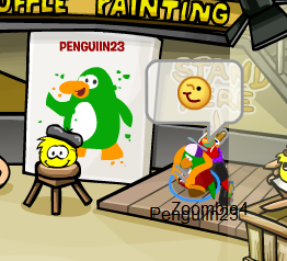 File:Yellow puffle paints Penguiin23!.png