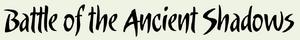 Battle of the Anciant Shadows Logo
