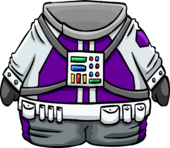 Purple Space Suit
