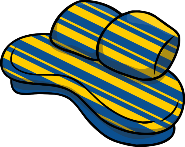 File:Custom Furniture (Blue Couch with Stripes).PNG