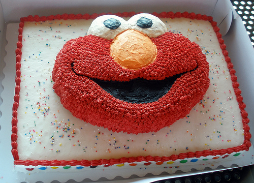 File:Brody's Elmo Birthday Cake.jpg