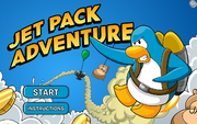 Jet Pack Adventure 2010 title screen