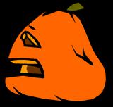 Sad Jack-O-Lantern sprite 004