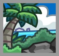 Beach Location icon