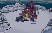 Halloween Party 2008 Mine Shack