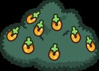 Large Multi-berry Bush icon