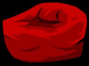 Red Beanbag Chair sprite 002