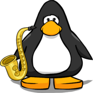 Saxophone from a Player Card