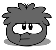 Black Puffle Chewing Gum