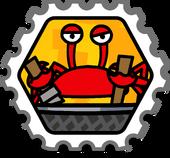 Crab Attack stamp