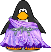 Enchanted Fairy Dress from a Player Card