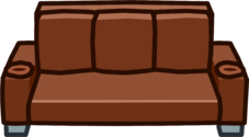 Brown Designer Couch icon