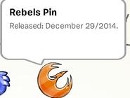 Rebels Pin Stamp Book