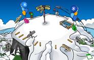 Winter Party Ski Hill
