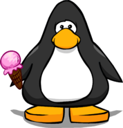 Pink Ice Cream from a Player Card